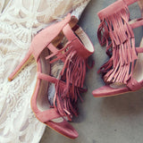 Boheme Blush Heels: Alternate View #2