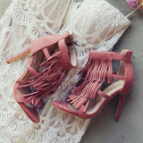 Boheme Blush Heels: Alternate View #4