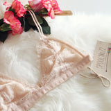 Boheme Lace Bralette in Sweetheart: Alternate View #2