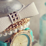 Bohemian Bangles Watch in Mint: Alternate View #2
