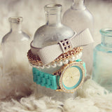 Bohemian Bangles Watch in Mint: Alternate View #1