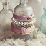 Bohemian Bangles Watch in Pink: Alternate View #3