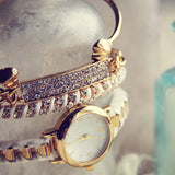 Bohemian Bangles Watch in White: Alternate View #2