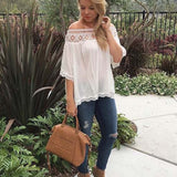 Boho Lux Lace Top: Alternate View #4