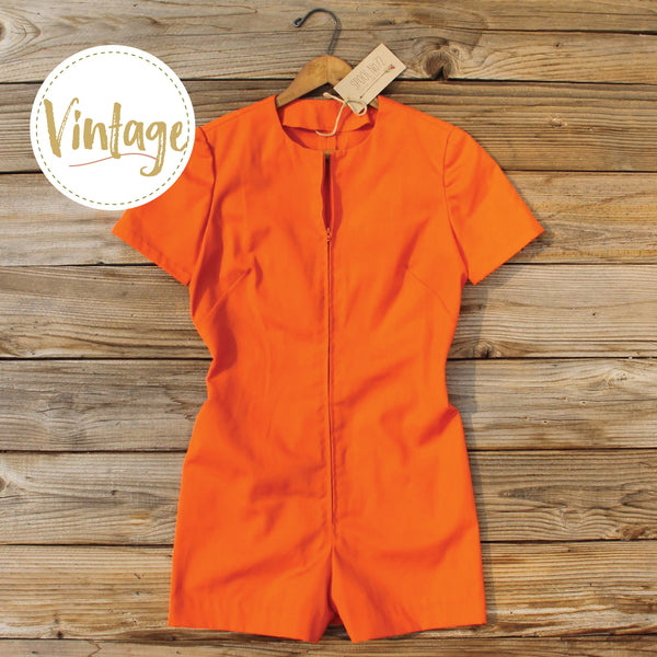 Bond Girl Vintage Romper: Featured Product Image