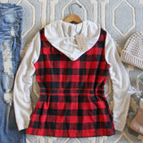 Bonfire Plaid Hoodie: Alternate View #4