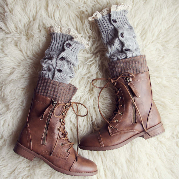 Winter Lace Boot Socks: Featured Product Image