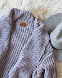 The Boston Bundle Sweater in Gray: Alternate View #2