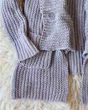 The Boston Bundle Sweater in Gray: Alternate View #3