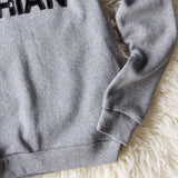 Bow & Drape Carb Dashian Sweatshirt: Alternate View #3