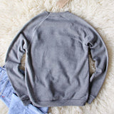 Bow & Drape Carb Dashian Sweatshirt: Alternate View #4