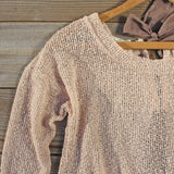 Lace & Tie Sweater: Alternate View #4