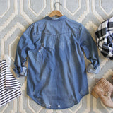 The Boyfriend Denim Shirt: Alternate View #4