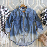 The Boyfriend Denim Shirt: Alternate View #1