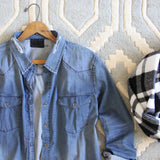 The Boyfriend Denim Shirt: Alternate View #2