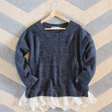 The Boyfriend Lace Sweater: Alternate View #4