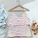 The Boyfriend Stripe Tank: Alternate View #4
