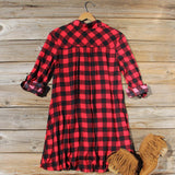 Bozeman Plaid Dress: Alternate View #4