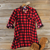 Bozeman Plaid Dress: Alternate View #1