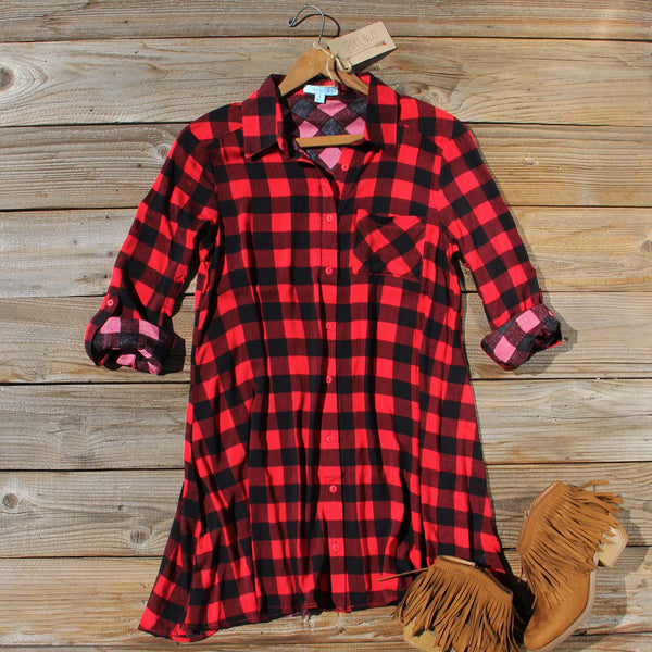 Bozeman Plaid Dress: Featured Product Image