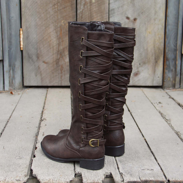 The Braided Back Boots: Featured Product Image