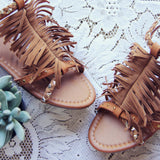Braided Canyon Sandals in Sand: Alternate View #3