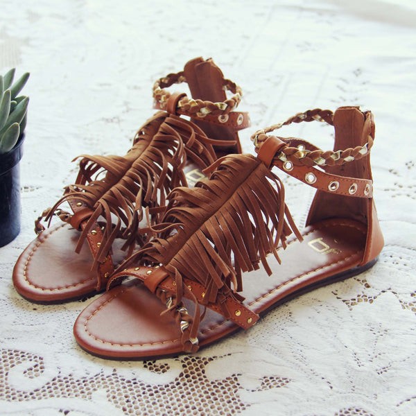 Braided Canyon Sandals in Sand: Featured Product Image