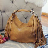 Braided Fringe Tote: Alternate View #3