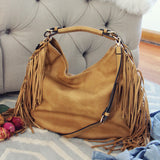 Braided Fringe Tote: Alternate View #1