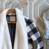 The Buffalo Plaid Coat: Alternate View #2