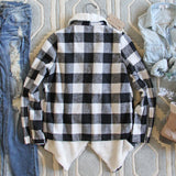 The Buffalo Plaid Coat: Alternate View #4