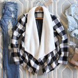 The Buffalo Plaid Coat: Alternate View #1