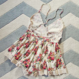 Buffalo Rose Romper in Cream: Alternate View #5