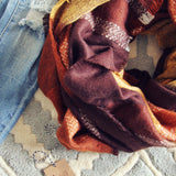 Bundled Tamarack Scarf: Alternate View #2