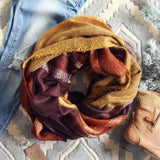 Bundled Tamarack Scarf: Alternate View #1