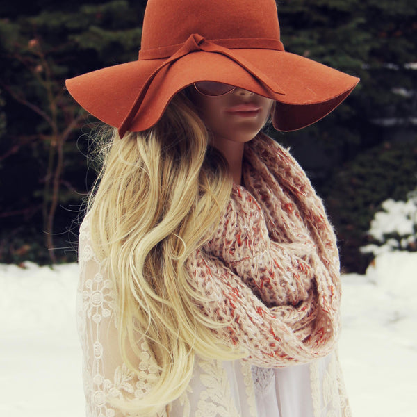 Burrow Knit Scarf in Sienna: Featured Product Image