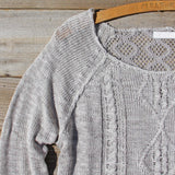 Pine Cone Stitch Sweater: Alternate View #3