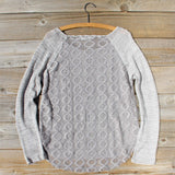 Pine Cone Stitch Sweater: Alternate View #4