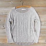 Pine Cone Stitch Sweater: Alternate View #2