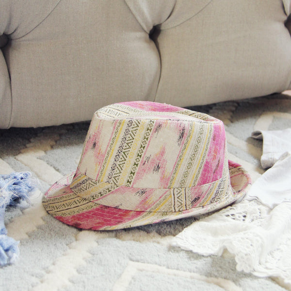 Cactus Flower Fedora: Featured Product Image