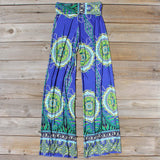 Cactus Legend Pants in Blue: Alternate View #4