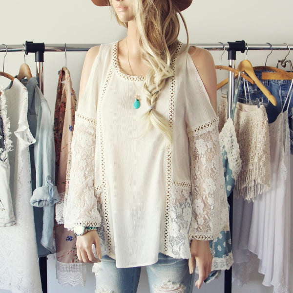 Cairo Lace Top: Featured Product Image