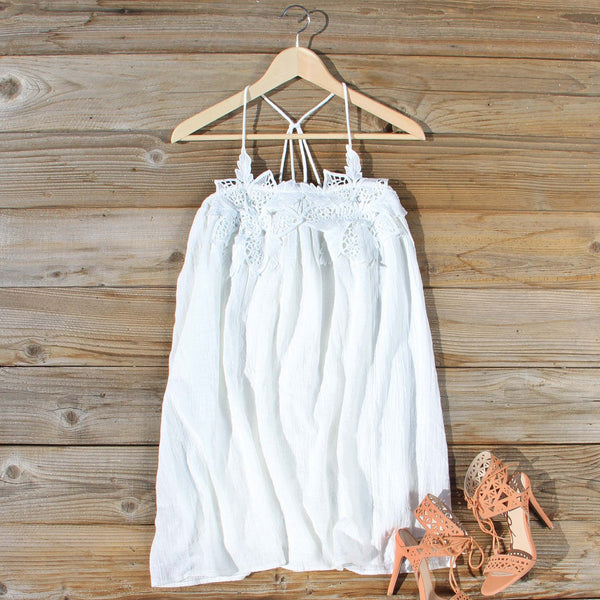 The Calypso Dress in White: Featured Product Image