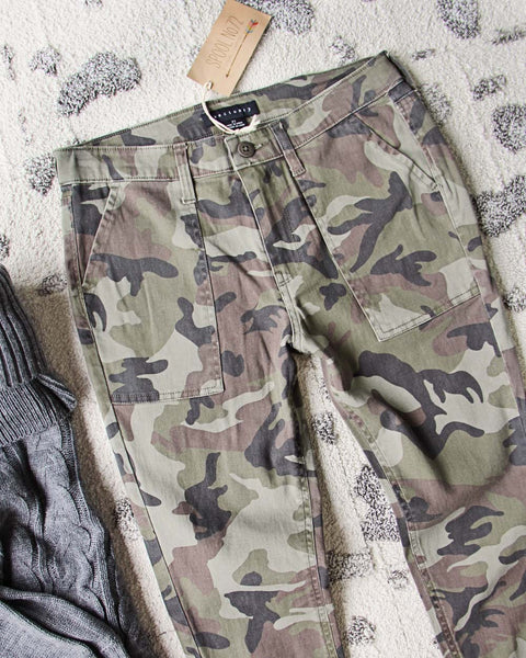 The Camo Cargo Pants: Featured Product Image