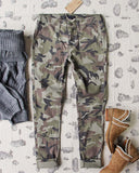 The Camo Cargo Pants: Alternate View #2