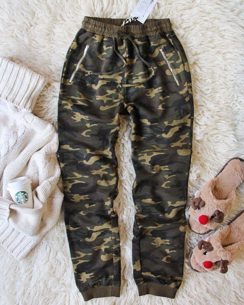 Cozy Camo Joggers: Featured Product Image