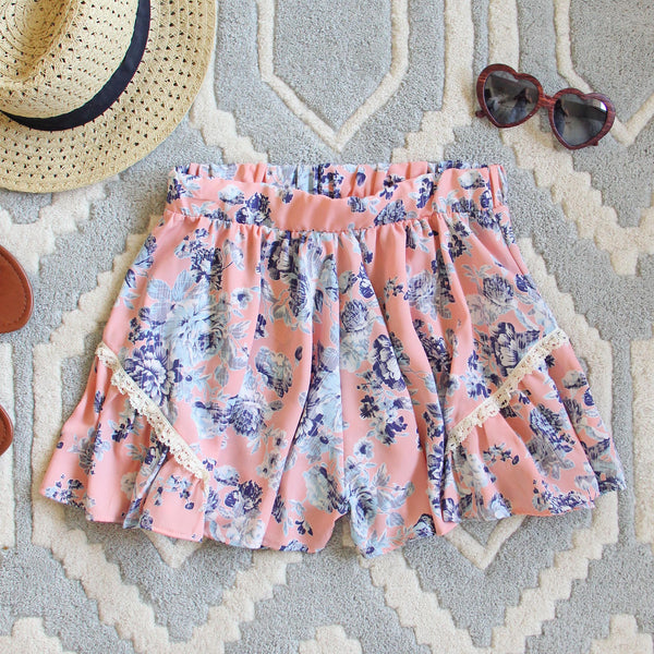Canyon Flower Shorts: Featured Product Image