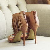 Canyon Fringe Heels: Alternate View #4