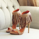 Canyon Fringe Heels: Alternate View #2
