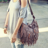 Canyon Fringe Tote: Alternate View #2